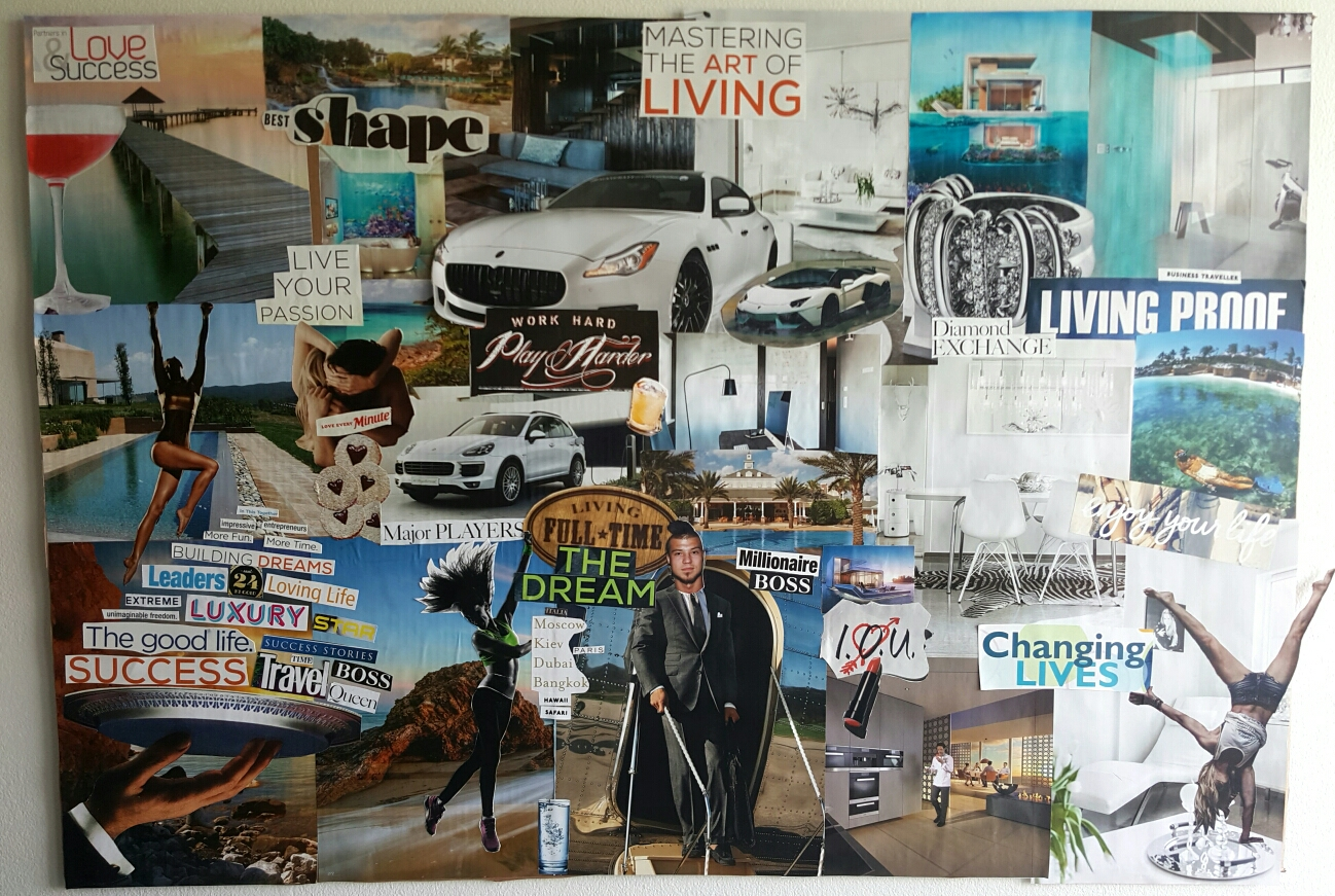 Heidar and Arna 3D vision board