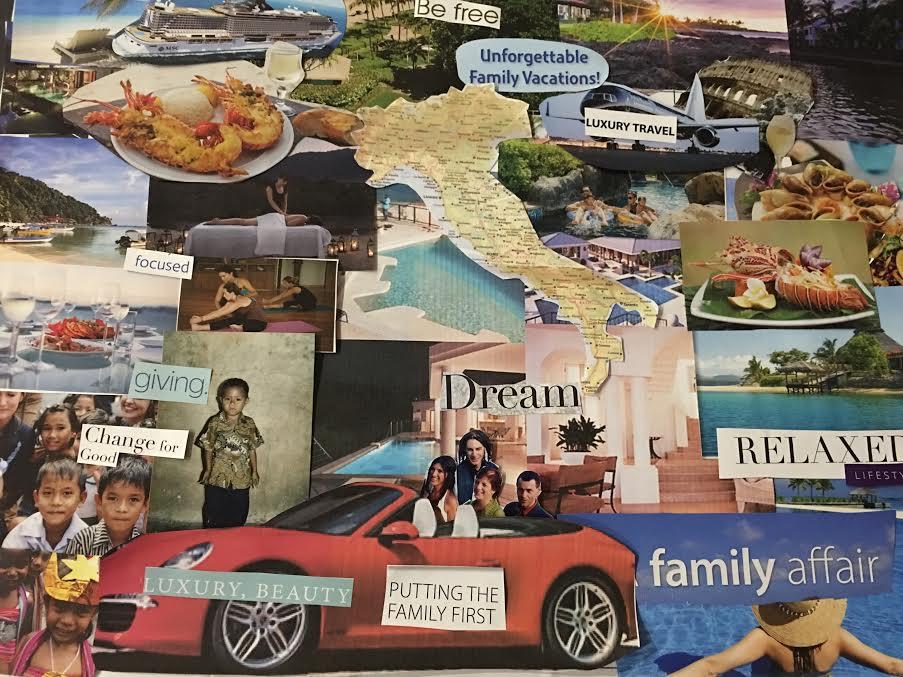 Rosetta Trovatello 3D Vision Board